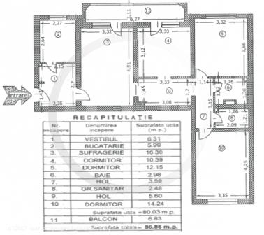 4 camere in Drumul Taberei, Moghioros