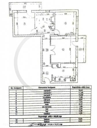 3 camere, Drumul Taberei, zona Drumetul