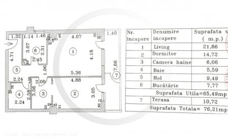 Schita apartament bloc primavara